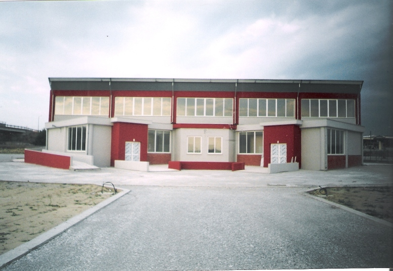 Κατασκευή κλειστού γυμναστηρίου Δήμου Αιγινίου και διαμόρφωση περιβάλλοντος χώρου