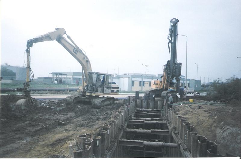 Υπολειπόμενες εργασίες του έργου: Αποχέτευση ακαθάρτων υδάτων ΒΙ.ΠΕ. Σίνδου – Αγχιάλου προς εγκαταστάσεις επεξεργασίας Λυμάτων στον Γαλλικό ποταμό