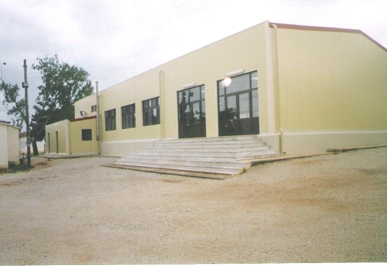 Κατασκευή ενός κτιρίου εστιατορίου – μαγειρείου στο στρατόπεδο Δαμιανού